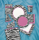 ZEBRA PRINT GIRLS HAPPY BIRTHDAY PARTY DECORATIONS TABLEWARE PLATES CUPS NAPKINS
