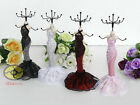"Princess Dress Mannequin Jewelry Earring Necklace Display Holder(tall 8.5"") JD20"