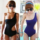 s23 One-Shoulder Cut Out Padded Swimsuit UK 6 8 10  Swimwear Bathing suit