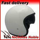 VIPER RS-V06 OPEN FACE JET TOURER MOTORCYCLE MOTORBIKE HELMET GLOSS WHITE