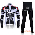 New Cycling bicycle bike outdoor long sleeves Jersey+pants Size M- XXXL