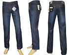 STOOKER HERREN JEANS HOSE NEW MEMPHIS -  Blue Black Cross Hatch - Baumwolle