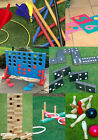 OUTDOOR SUMMER GIANT PUB EVENT GARDEN GAMES GIANT WOODEN TOWER FOUR IN A ROW