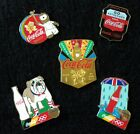 Various London 2012 Coca-Cola Collection Pin Badges