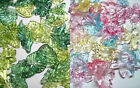 ACRYLIC BEADS LEAF or FLOWER CRAFT JEWELRY MAKING 100pc