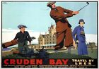 Cruden Bay, Golfing, Aberdeenshire. Vintage LNER Travel Poster by Frank Newbould