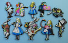 Alice in Wonderland Brooch - Laser Cut Wooden Character - Choose your character!