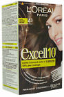 Loreal Excell 10 Permanent Hair Colour Crème Dark Golden Brown 4.3