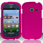 For Samsung Galaxy Discover S730G Rubberized HARD Case Snap On Phone Cover