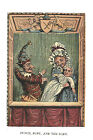 Fabric Panels; Children's Antique Punch and Judy. Craft/ Quilting/ 100% Cotton