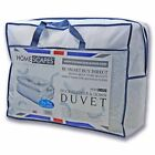 15 Tog Duck Feather Down Duvets Quilt Washable Single Double King Size Superking