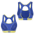 Powerful Racer Back Level 4 Maximum Run Sports Bra Black White