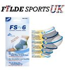 FS6 One Pair Foot Compression Support Sleeves - Heel Pain - Size S / M / L / XL