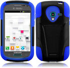 Samsung Galaxy Exhibit T599 Advanced HYBRID KICK STAND Rubber Phone Case Cover
