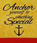 Anchor Something Special Nautical Room Decor Wall Sticker Vinyl Decal 22.5Wx23H