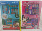 Disney Clubhouse mickey Mouse Complete Art Pack Gift Set with Carry Case bnib