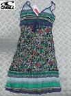WOMEN'S O'NEILL SUMMER DANICA DRESS GREEN PURPLE cotton ladies girls NEW