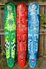 FAIR TRADE WOODEN TRIBAL MASK WALL HANGING INDONESIAN ETHNIC 100cm
