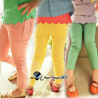 Autumn Stretchable Princess Kids Toddlers Girls Candy Tights Pants Trousers 2-7Y