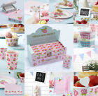 EVERYTHING  FOR VINTAGE ROSE SHABBY CHIC WEDDING PARTY CUPS PLATES SIGNS ECT