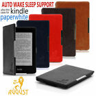 FOLIO THIN MAGNETIC CASE COVER FOR AMAZON KINDLE PAPERWHITE + CHOOSE ACCESSORIES