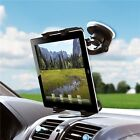Windshield Car Mount Window Holder Rotating Suction Stand Dock Cradle For Tablet