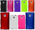 For Sprint HTC 8XT Rubberized HARD Protector Case Snap On Phone Cover