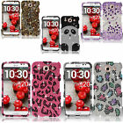 For AT&T LG Optimus G Pro E980 Crystal Diamond BLING Case Snap Phone Cover