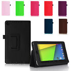 PREMIUM PU LEATHER CASE COVER STAND FOR ASUS GOOGLE NEXUS 7 2 + STYLUS