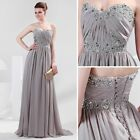 Sexy Sweetheart Long Formal Wedding Bridesmaid Evening Cocktail Dress Prom Gowns