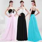Princess Lady Dresses Wedding Bridesmaid Evening Party Formal Prom Dress Gown
