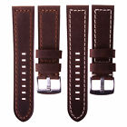 "Genuine Italian Leather ""Vintage"" Crazy Horse Watch Strap Quality 22 mm or 24 mm"