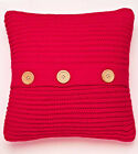 NEW Catherine Lansfield Chunky Knit Warm Cosy Cushion Cover 45cm x 45cm
