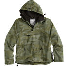 SURPLUS WINDBREAKER TACTICAL WATER REPELLENT HOODED MENS JACKET NIGHT CAMOUFLAGE