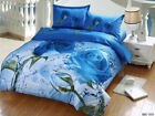 Floral Queen/King Size Bed Quilt Cover Set New 100% Cotton Doona/Duvet Cover Set