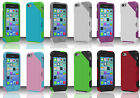 For Apple iPhone 5C HYBRID SEEK Impact Resistance Case Phone Cover Accessory