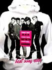 """FELPA - T-SHIRT  """"ONE DIRECTION"""" BEST SONG EVER  ORIGINALE COL. BIANCO MOD.LADY"""
