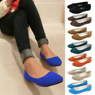 New fashion Womens Slippers Flat Shoes  Ladies Ballerina Dolly Microsuede Pump