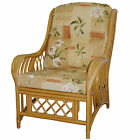 Gilda New Cane CHAIR Cushions/Covers Only Wicker Rattan Conservatory Furniture