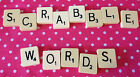 Vintage Scrabble Words - Great for Crafting & Making gifts