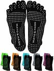 "Mato & Hash 5-Toe Exercise ""Barefoot Feel"" Yoga Toe Socks With Full Grip"