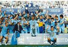 Manchester City 12x8 inch photo Premier League Champions 2011-12