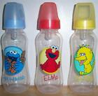 SESAME STREET 9oz BOTTLE, Big Bird,  Elmo, Cookie Monster, Baby Shower