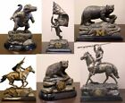 Choose Your NCAA College Team Antique Bronze Patina Desktop Statue by Tim Wolfe