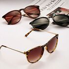 Women's Retro Metal Frame Leg Round Eyeglasses Spectacles 5 Colors Sunglasses