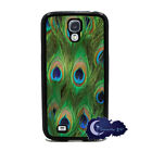 Peacock Feathers, Animal Print Case for Samsung Galaxy S4 SIV Phone Cover