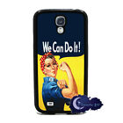 Rosie the Riveter, We Can Do It! - Case for Samsung Galaxy S4 SIV Phone Cover