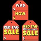 3 PACKS Large Stick-On Tags with FREE SHIPPING