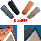 Klober Universal Dry Verge - Left / Right Hand - Gable / Apex Roof Tile End Cap