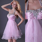Short Mini Sweetheart Prom Gowns Bridemaids Evening Cocktail Ball Party Dresses